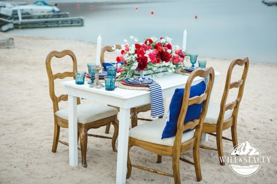 nautical theme wedding, brown vintage chairs, chairs with character, chair rental colorado, chair rental denver