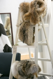 (2) white 6ft ladders for escot cards, decor or dessert!