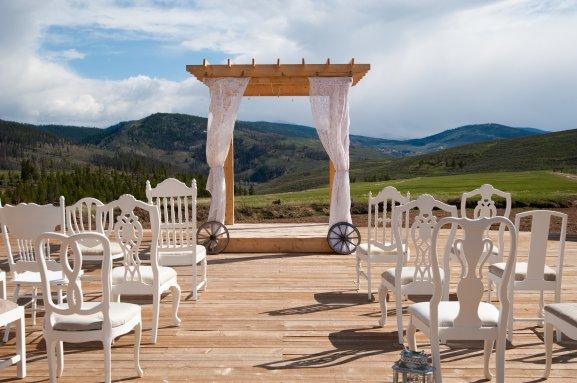 White chair rental denver, white chair rental colorado, ranch wedding colorado, wedding winter park