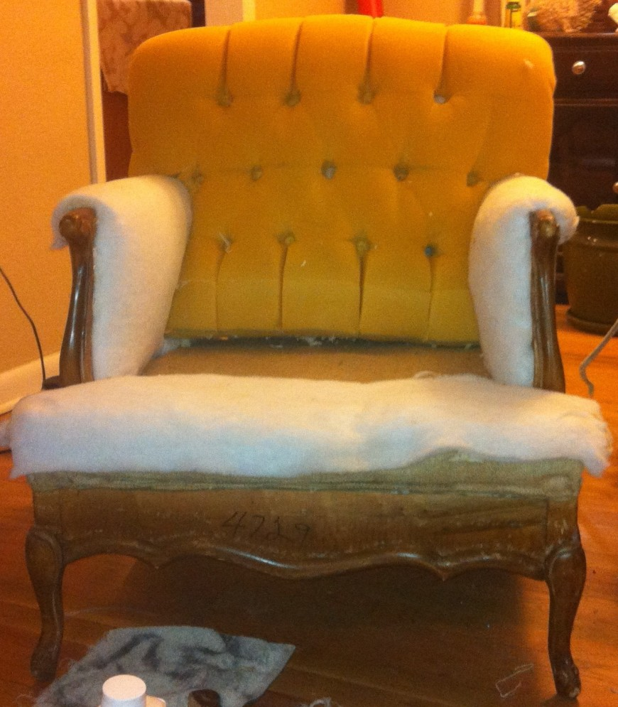 re-upholstering chair furniture, lounge furniture, wedding